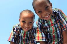 近い将来、アフリカの子どもたちが世界の主役となっていく
