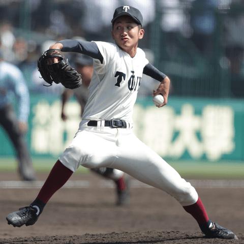 注目投手 横川凱