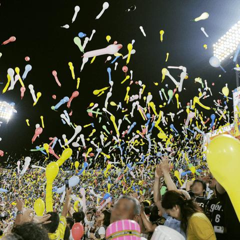 主催試合で平均観客動員数1位の阪神甲子園球場